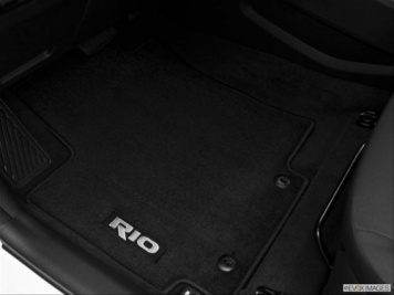 Kia Rio 2011 to 2014 Velour Carpet Mat Set - 1W143ADE10