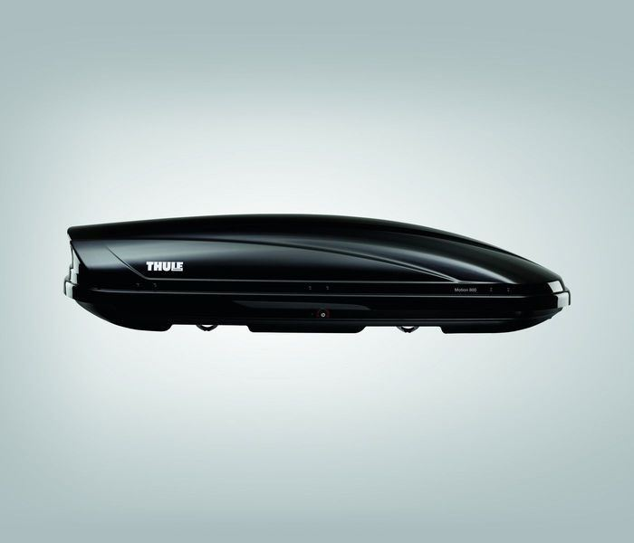 Genuine Toyota C-HR - Thule Motion 800 Ski box - Glossy black - PZ41B-00633-00