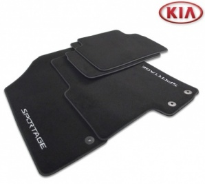 Kia Sportage 2010-2015 Velour Floor Mats Tailored -  3U143ADE10