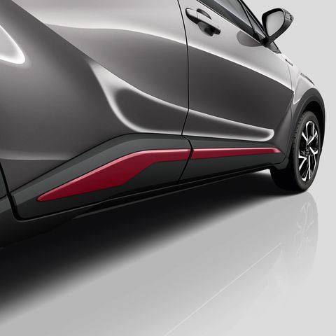 Genuine Toyota C-HR - Side sills - Red-PW156-10000-DH
