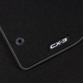 Mazda CX-3 Black ''Luxury'' Floor Mats - DD1WV0320