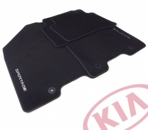 Kia Sportage 2016 Onwards Velour Floor Mats Tailored -  F1143ADE10