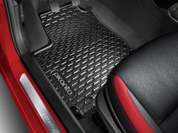 Kia Picanto 2017+ Floor Mats All Weather - G6131ADE10GR