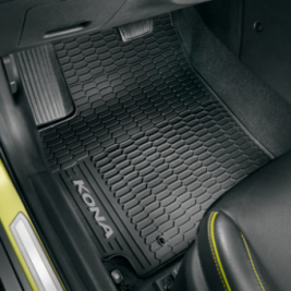 Hyundai Kona All Weather Carpet Mats - Black  J9131ADE10