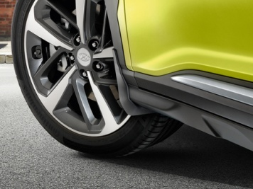 Hyundai Kona Front Mud Guards -  J9F46AK000