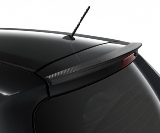 Toyota Yaris Roof Spoiler Carbon Look - PW156-0D003