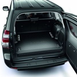 Toyota Land Cruiser 5 Seater with Boot Rails - Boot Liner PZ434-J2303-PJ
