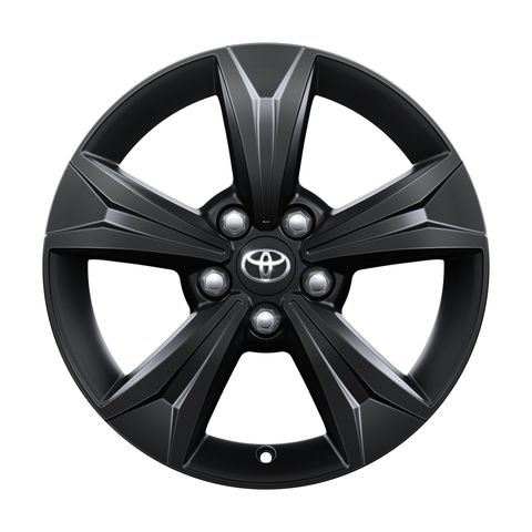 Genuine Toyota C-HR - Alloy Wheel 17'' - Black matte - PW457-10001-YB
