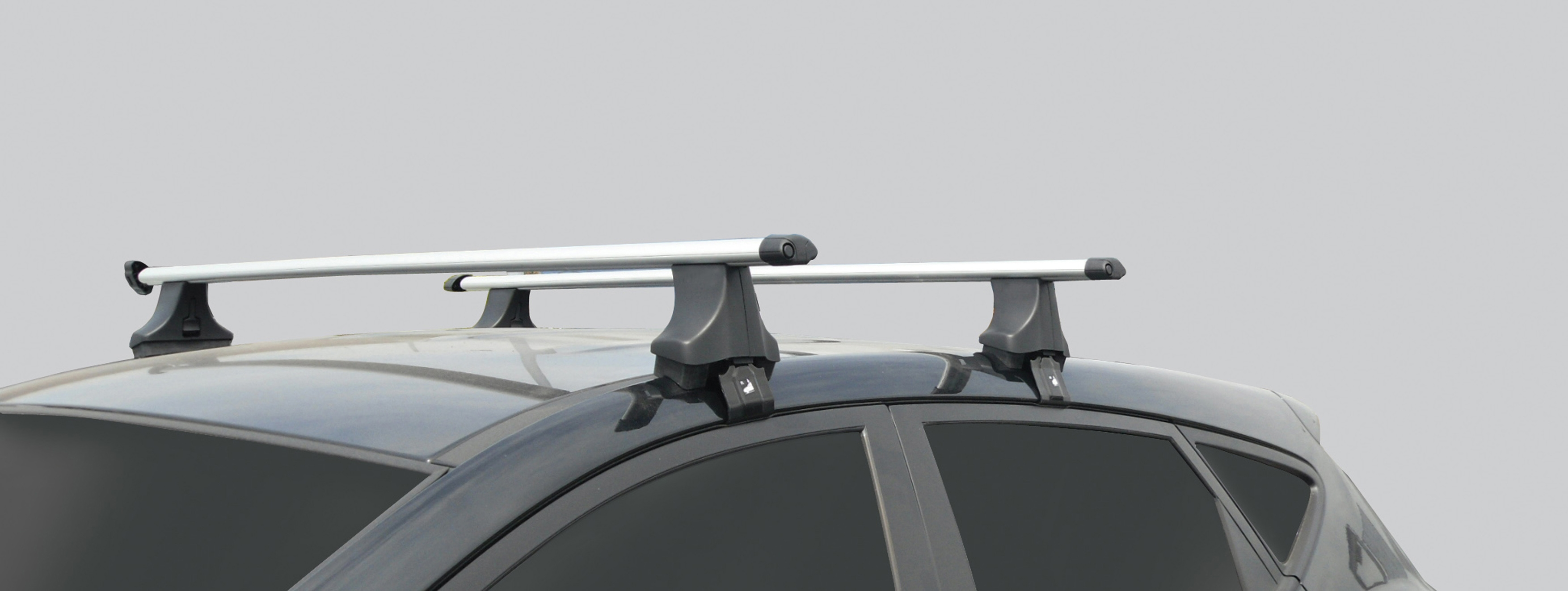 Hyundai Roof Bars   Thule Black (Style Spec Without Rails) HMY5310004