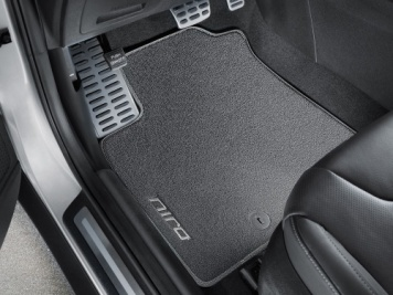 Kia Niro 2016 Onwards Velour Floor Mats Tailored -  G5143ADE10