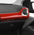 Genuine Toyota Aygo 2014 Onwards Passenger Side Dashboard RHD Red Pop -554750H080D0
