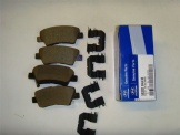 Hyundai i10 2013 Onwards Rear Brake Pads - 58302B4A30