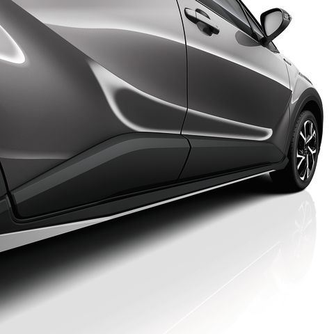 Genuine Toyota C-HR - Side skirts PW150-10000