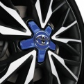 Genuine Toyota C-HR Centre Cap Blue - PW458-10004