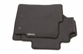 Toyota Yaris Black Carpet Mats 2007 - 2009 PZ410-B0357-FA