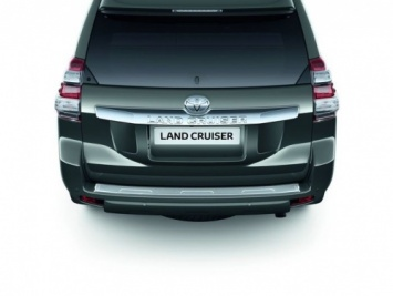 Toyota Land Cruiser 2010 Onwards Rear Bumper Protection Plate 08475-60810