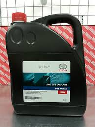 Toyota Red Coolant Antifreeze 5 Litre Pre Mixed 08889-80002
