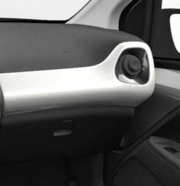 Genuine Toyota Aygo 2014 Onwards Passenger Side Dashboard RHD White Flash - 554750H080A0