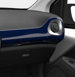 Genuine Toyota Aygo 2014 Onwards Passenger Side Dashboard RHD Deep Blue - 554750H080J0