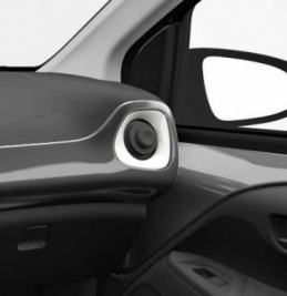 Genuine Toyota Aygo 2014 Onwards Right Air Vent Surround White Flash - 556620H050A0