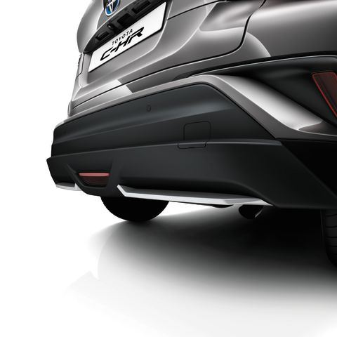 Genuine Toyota C-HR - Rear skirt - PW158-10000
