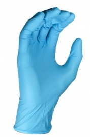 Genuine Polyco Blue Nitrile Powder Free Disposable Gloves Small