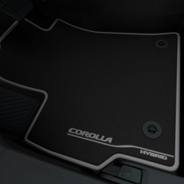 Toyota Corolla 2019> Right Hand Drive Floor Mats PW210-02019