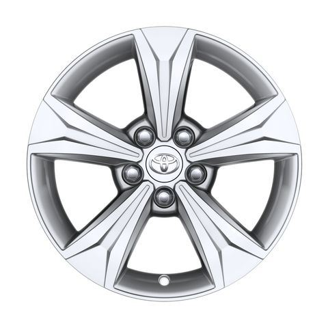Genuine Toyota C-HR - Alloy Wheel 17'' - Glossy Silver - PW457-10001-ZC