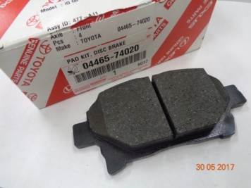 Toyota IQ 2008-2014 Front Brake Pads 04465-74020