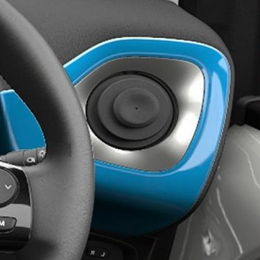 58804-0H030-B1 Genuine Toyota Aygo 2014/> Gear Shift Surround Sliver Splash