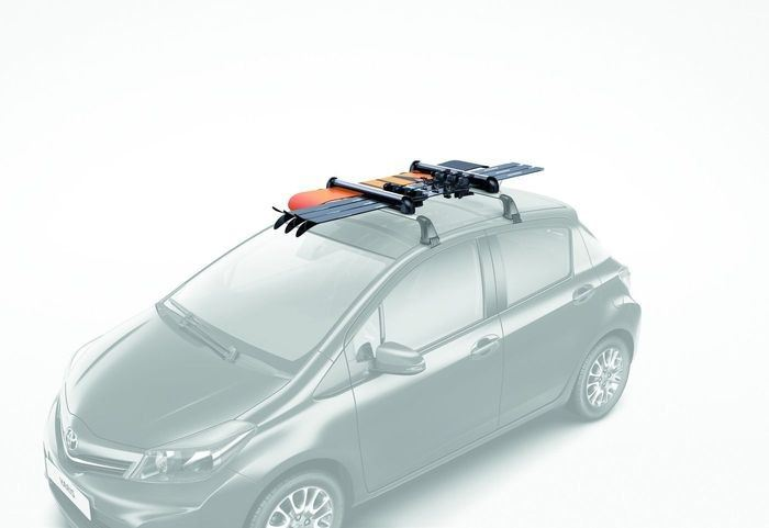 Genuine Toyota C-HR - Ski and snowboard holder (4 pairs of skis or 2 snowboards) - PZ403-00630-00