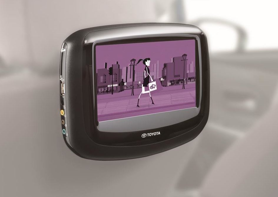 Genuine Toyota C-HR - RES Master DVD screen - PZ462-00207-00