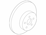 Genuine Toyota C-HR - Front Brake Discs - 43512-F4010