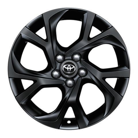 Genuine Toyota C-HR - Alloy Wheel 18'' - Black matte - PW457-10003-YB
