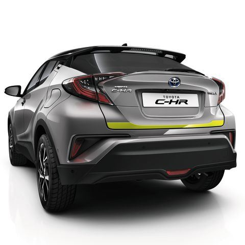 Genuine Toyota C-HR - Lower trunk trim - Lime Green - PW405-10000-GF