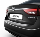 Toyota Avensis 2015 Onwards Rear Bumper Protection Plate Brushed Steel - PW178-05004