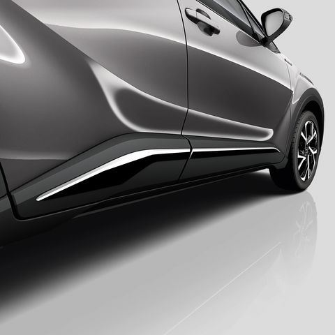 Genuine Toyota C-HR Chrome Side Sills - PW156-10000-01